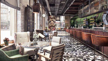 Oryginalne fotele do kawiarni w nowoczesnym stylu